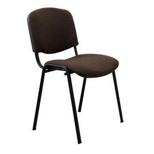 Kancelárska stolička, hnedá, ISO NEW C-24, rozbalený tovar