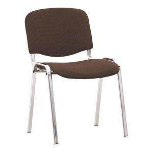 Kancelárska stolička, hnedá, ISO C24, rozbalený tovar