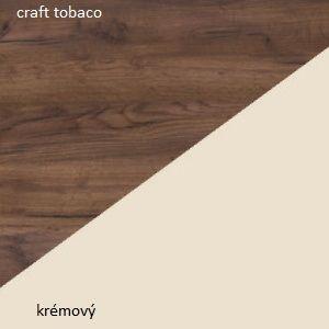 WIP Visiaca skrinka Verin 23 Farba: Craft tobaco / krémová
