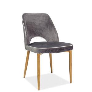 Signal Jedálenská stolička Verdi Farba: Sivá