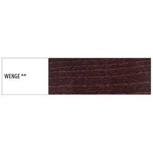 Drewmax  Úložný box pod posteľ - masív LK170 / buk Morenie: Wenge