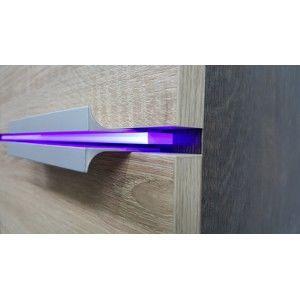 ArtAdr Kúpeľňová zostava Lauro Farba: LED osvetlenie políc - modré