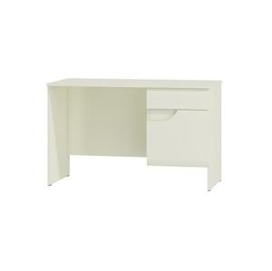 WIP Písací stolík BRYZA BRB-1C Farba: biely mat / biely lesk / biely alebo čierny úchyt