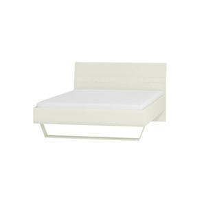 WIP Manželská posteľ BRYZA BRL-3C Farba: biely mat / biely lesk / biely alebo čierny úchyt