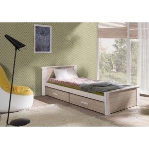 ArtBed Detská posteľ Aldo 90 x 200 cm Prevedenie: Borovica prírodná