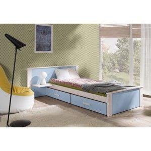 ArtBed Detská posteľ Aldo Plus 100 x 200 cm Prevedenie: Borovica prírodná
