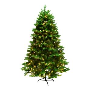 Vysokokvalitný FULL 3D vianočný stromček so svetielkami, zelená, 180cm, LED300, CHRISTMAS TYP 6