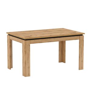 Jedálenský rozkladací stôl, dub wotan, TORONTA S