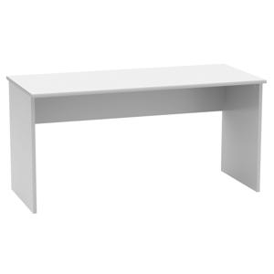 Písací stôl, biela, JOHAN 2 NEW 01