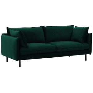 Luxusný 2-sed, smaragdová, VINSON 2
